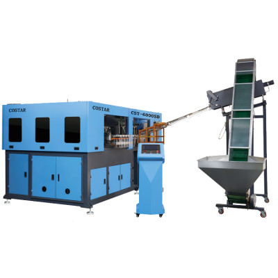 Full automatic PET blowing machine to make plastic bottles