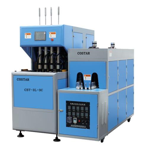300ml 500ml 1L semi automatic stretch plastic bottle blowing machine