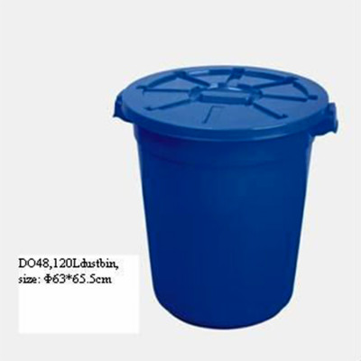 Factory price high quality plastic round dustbin mold