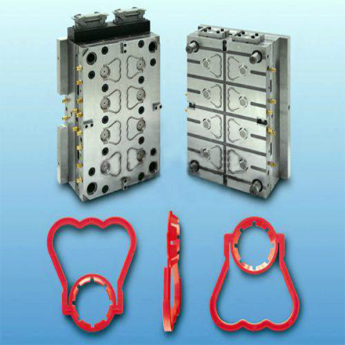 Precision injection plastic bottle hand handle injection mold