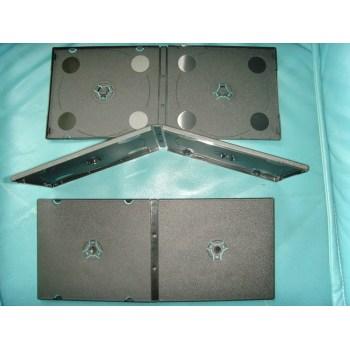 Transparent CD/DVD case plastic injection mold
