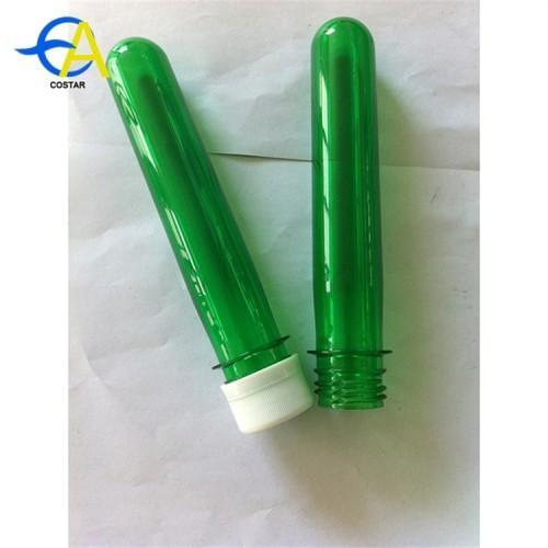 New material PET plastic bottle preform 28mm neck pet preform
