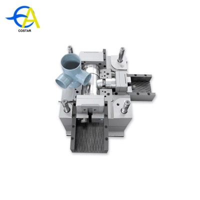 China supplier plastic valve mould PP-R cold and hot water ABS pipe fittings mold