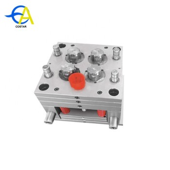 Stainless steel completed mould making line plastic injection mold pvc pipe fitting mold