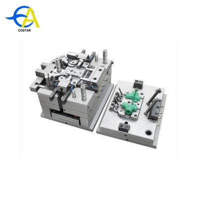 China mold factory plastic injection mould pvc pipe fitting mould