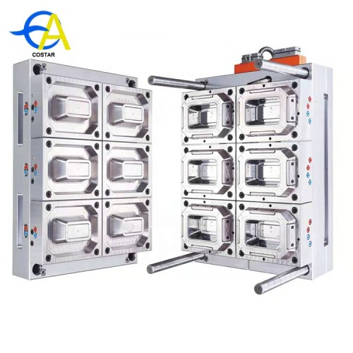 High speed packing box injection machine thin wall moulds plastic