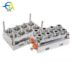 China supplier plastic injection mold making machine thin wall mold