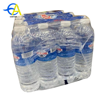 China factory water prof customized pe shrink film bottle for packing wrapping