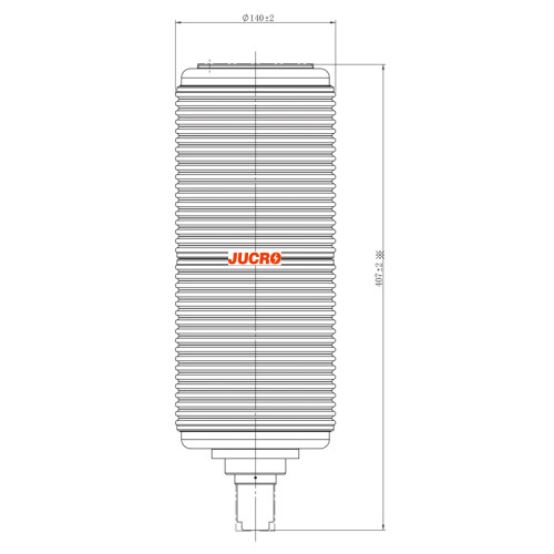 40.5KV Vacuum Interrupter JUC61070 2000A for vacuum circuit breaker use from JUCRO Electric