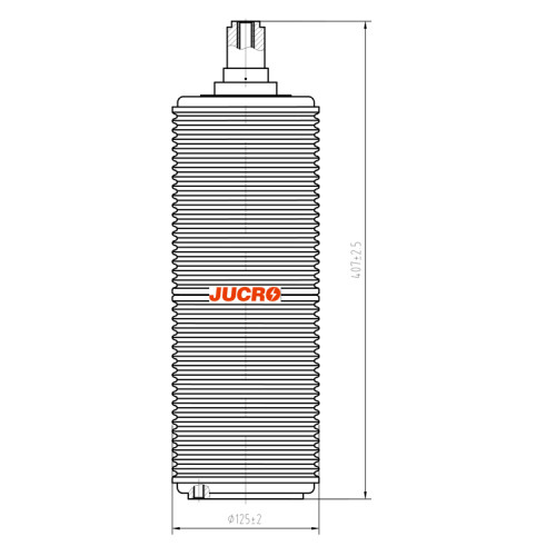 Vacuum Interrupter JUC632 40.5KV 1600A 31.5KA for VCB vacuum circuit breaker use from JUCRO Electric