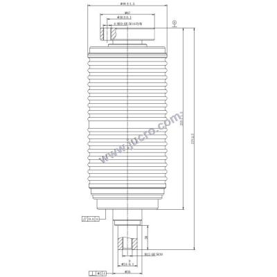 Vacuum Interrupter TD 12kv 630A 20KA (JUC612)   for VCB
