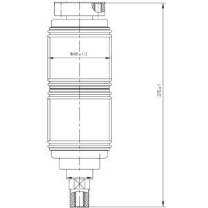 Вакуумный прерыватель JUC2311 12KV 1250A для VCB вакуумный выключатель использования от JUCRO