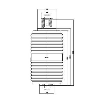 Вакуумный прерыватель TD 12KV 630A 25KA(JUC611A) для вакуумного выключателя VCB от JUCRO Электрический