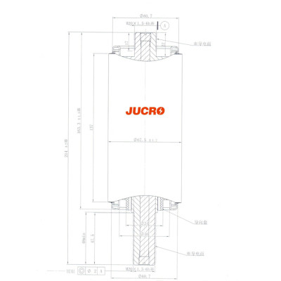 12KV Vacuum Interrupter JUC61029C 630A 20KA for load-breaking switch use from JUCRO Electric