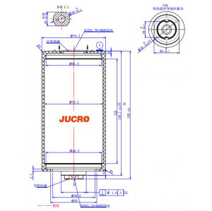 12KV Vacuum Interrupter JUC61182 630A-20KA for load-breaking switch use from JUCRO Electric