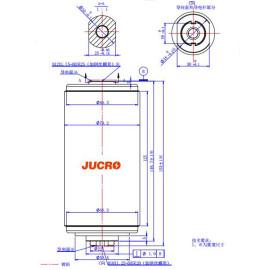 Вакуумный прерыватель JUC61182 12KV 630A  для использования с выключателем нагрузки от JUCRO