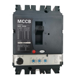 Moulded Case Circuit Breaker JCNSX250NE 250A MCCB Electronic Type from HUBEI JUCRO ElECTRIC