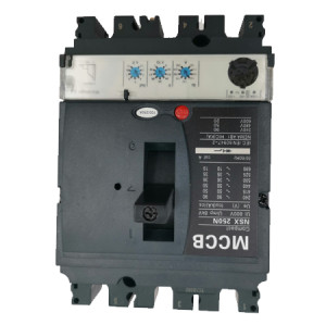 Moulded Case Circuit Breaker JCNSX250NE 125A MCCB Electronic Type from HUBEI JUCRO ElECTRIC