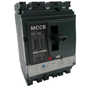 Moulded Case Circuit Breaker JCNSX160NT 80A MCCB Thermal magnetic Type from HUBEI JUCRO ElECTRIC