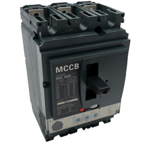 Moulded Case Circuit Breaker JCNSX160NE 125A MCCB Electronic Type from HUBEI JUCRO ElECTRIC