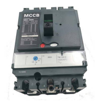 Moulded Case Circuit Breaker JCNSX 100NT 50A MCCB Thermal magnetic Type from HUBEI JUCRO ElECTRIC