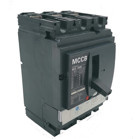 Moulded Case Circuit Breaker JCNSX 100NT 100A MCCB Thermal magnetic Type from HUBEI JUCRO ElECTRIC