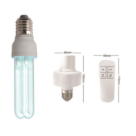 E27 UV germicidal lamp High Quality Home use UV air cleaner 15W sterilizing lamp from HUBEI JUCRO ElECTRIC