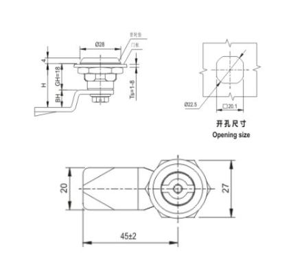 MS705-3E Зажим для вращающегося язычка для принадлежностей для распределительных устройств низкого напряжения от JUCRO Electric