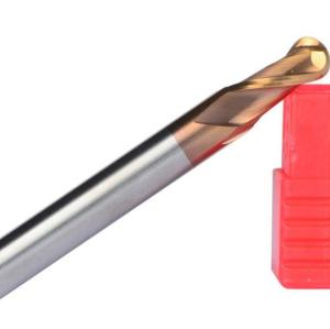 Tungsten Carbide Ball Nose End Mill 2 Flute 30° Helix HRC45/55/65