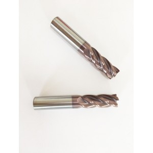 High Precision Tungsten Carbide Corner Radius End Mill Cutter