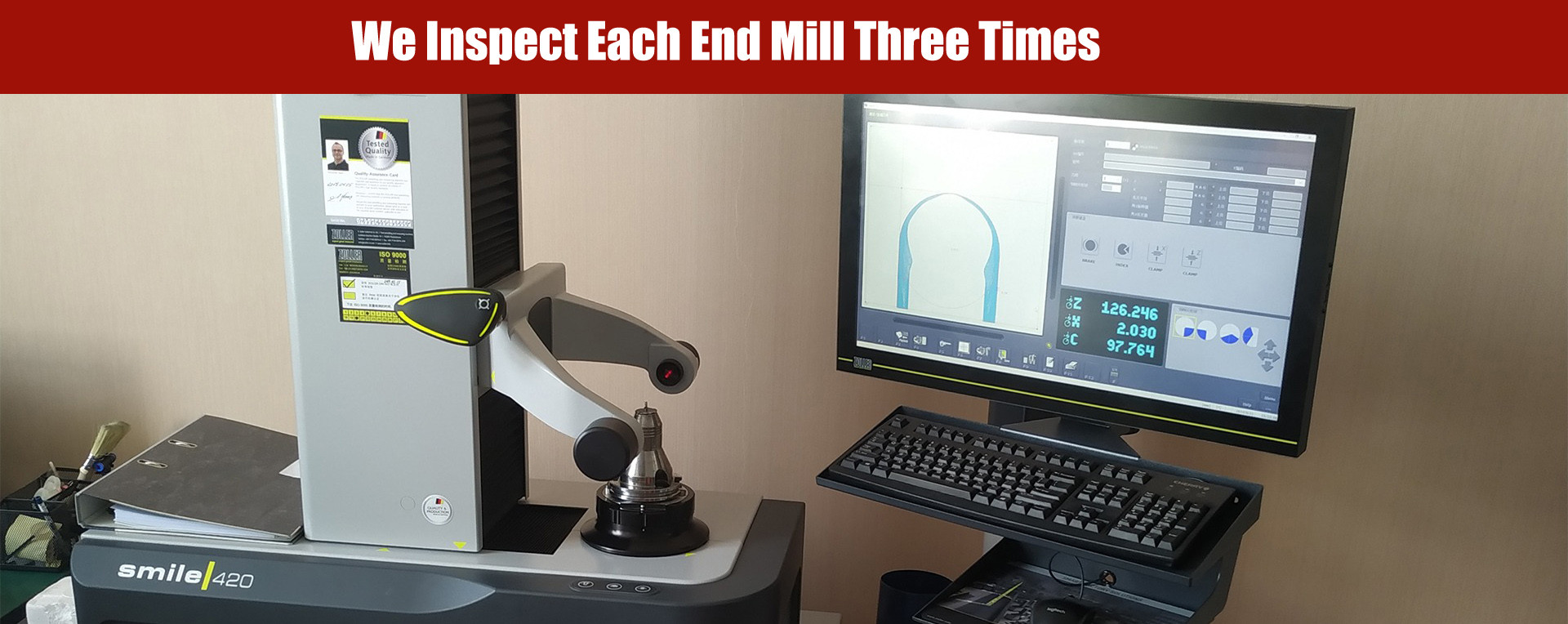 End Mills inspection