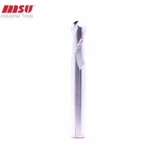 High performance end mill bits for aluminum