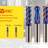 MSU Carbide End Mills For Hardened Steel HRC65