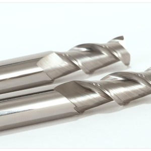 2 Flute Solid Carbide End Mill For Aluminium uncoated