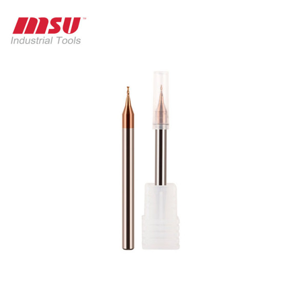 2 Flute Carbide Mircro End Mill HRC55 For Steel