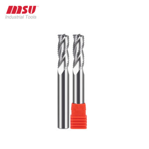 3 Flute Carbide Roughing End Mill For Aluminium