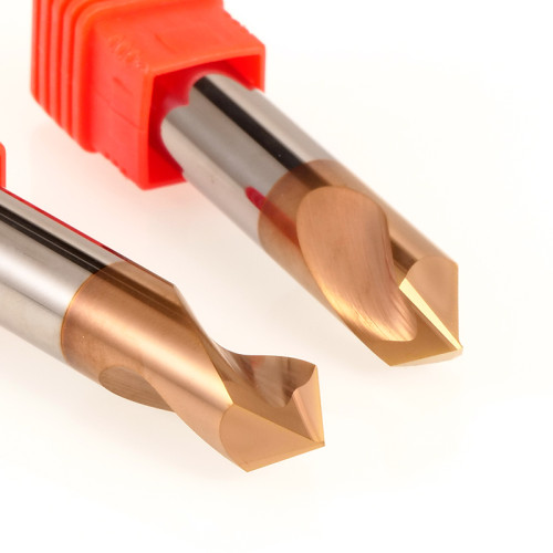 MSU Premium Carbide NC Spot Drills For Steel 90 120 degree