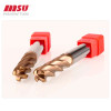 MSU HRC55 Carbide bull nose end mill 4 Flute