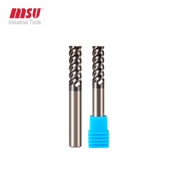 HRC60 Carbide Radius End Mill For Mould Steel