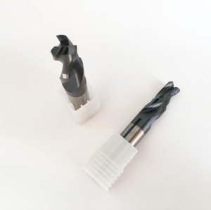 Customized Tool |3 Flute Carbide Step End Mill For Cast Iron AITiN-based| HRC55 Carbide End Mills