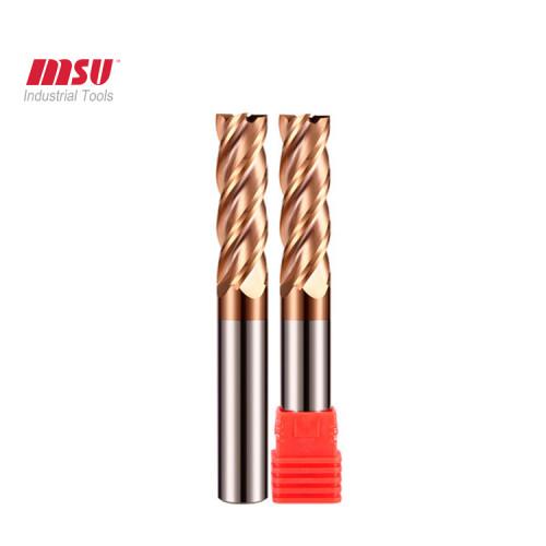 HRC55 4 Flute Flat Extra long Carbide End Mills