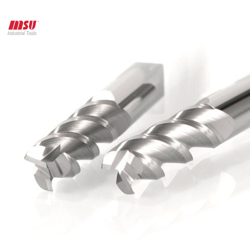 MSU HRC58 3F Nose End Mill For Aluminum