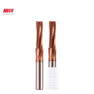 MSU Solid carbide thread mills M3 M4 M5 M6
