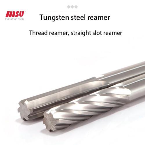 HRC58 High Precision CNC Carbide Reamer 6F Flute