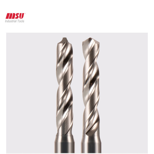 Solid Carbide Twisted Drills For Alloy Aluminum