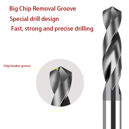 High Performance Carbide Drill ALTIN Coating
