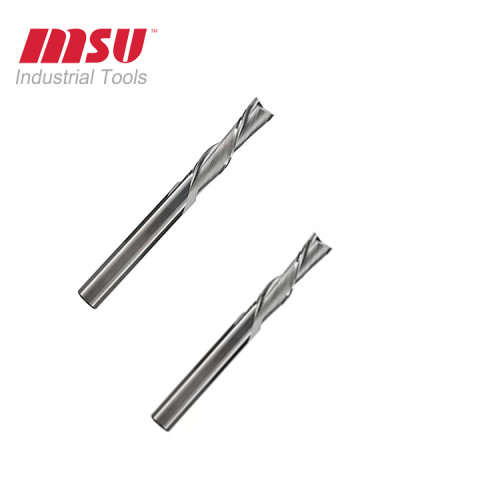 2 Flute Carbide Down Cut End Mill Spiral CNC Ruoter Bit For Wood Cut-Carving