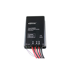 Tracer5206BPL 20A 12/24VDC MPPT Solar Charge Controller with built-in LED driver