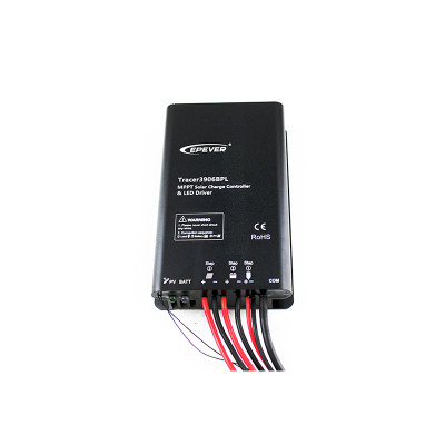 Tracer3906BPL 15A 12/24VDC MPPT Solar Charge Controller with built-in LED driver