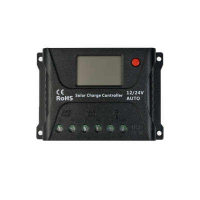 SR-HP2410 12/24V 10A PWM Smart Solar Charge Controller